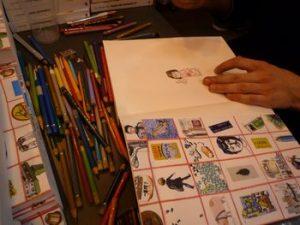 Florent Chavouet dédicace au salon du livre (2010)