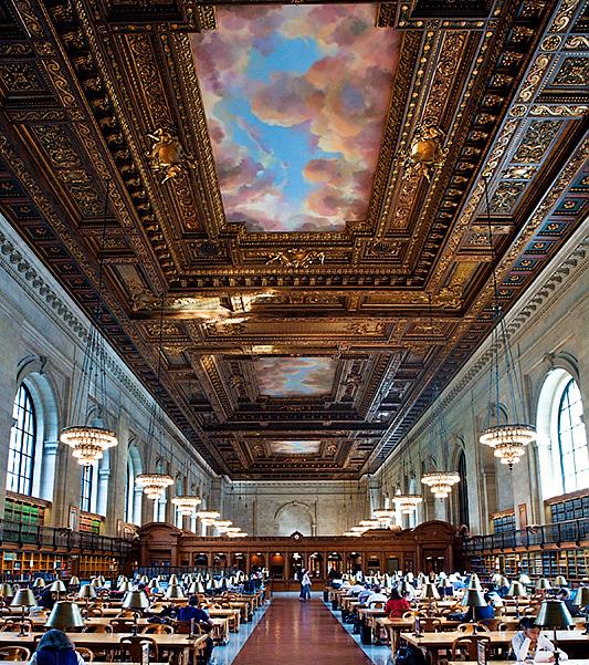 New York Public Library Reading Room