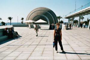 Bibliotheca Alexandrina devant le planétarium
