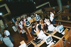 Bibliotheca Alexandrina le groupe ADBS en visite
