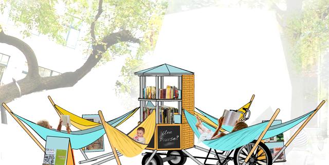 La biliambule, projet de bibliothèque ambulante