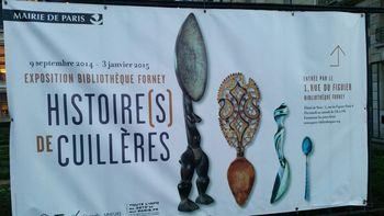 Histoires de cuillères à la Bibliothèque Forney