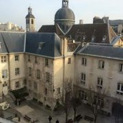 Cour de l'Institut Catholique, EBD, Paris, crédit photo Stéphane Beguier