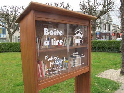 Boite à lire Honfleur