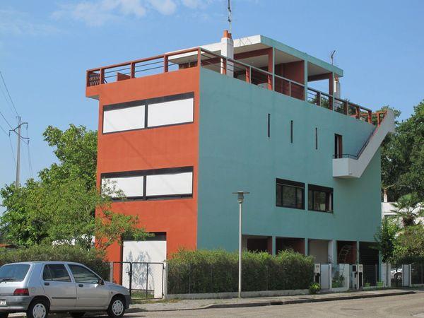 Le Corbusier, Les quartiers modernes Frugès à Pessac