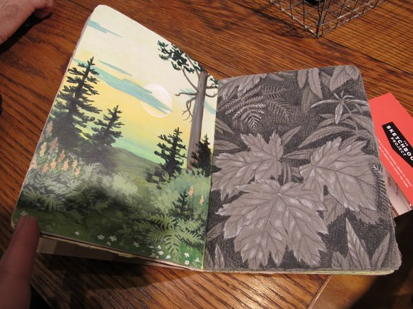Sketchbook Project, exemple