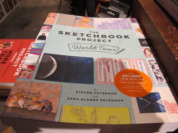 Sketchbook Project, le livre