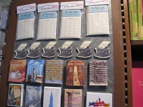 New York Public Library Shop, les magnets
