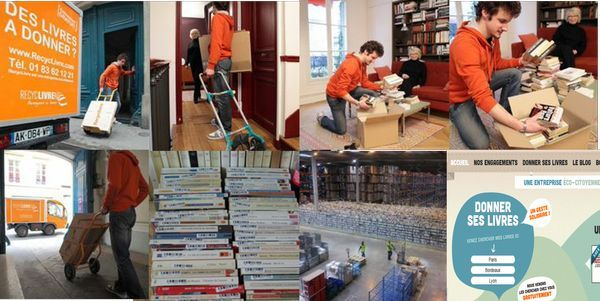 RecycLivre, vie d'un livre