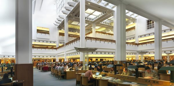 British Library Salle de lecture Credit Paul Grundy