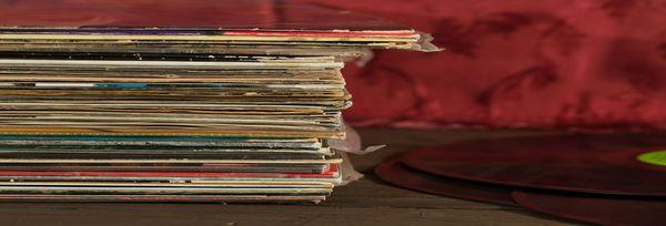 Vinyles, crédit Albert Grégo