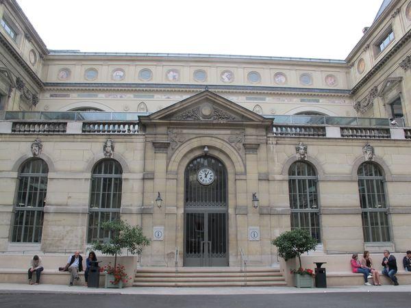 BNF Richelieu, août 2017