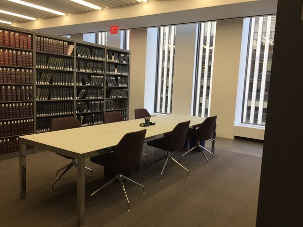 Bibliothèque W&C, NYC