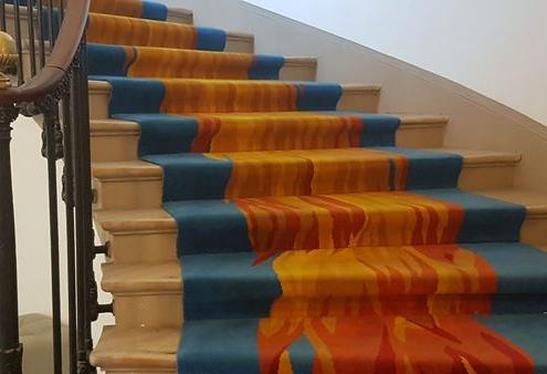Escalier de la fondation Mozilla, Paris
