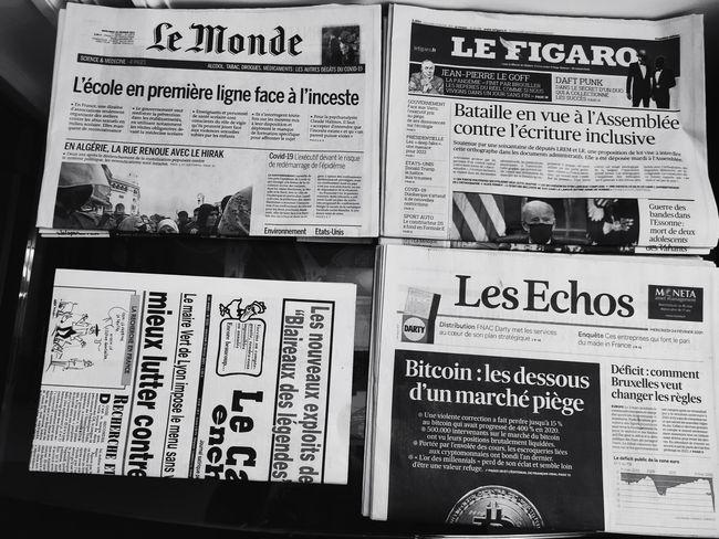 quelques titres de presse économique