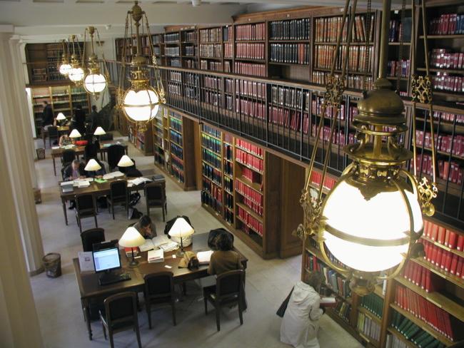 Bibliothèque de l'ODA Paris